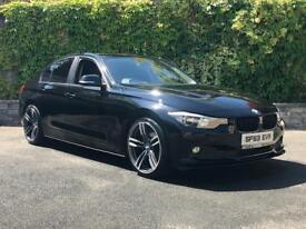 BMW 320D 3 SERIES F30 2013 EFFICIENT DYNAMICS AUTO MPerformance lip kit SAT NAV £45 PER WEEK A4 C220