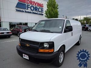 2016 Chevrolet Express Cargo Van Rear Wheel Drive - 23,068 KMs