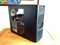 Custom Coolermaster pc, Intel Core i7-4770k, 16GB RAM, SSHD, Nvidia Quadro K4000