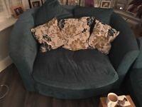 Sofa,arm chair and cuddle chair