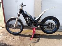 Sherco 125ccm 2007 Trials bike
