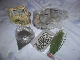 Fish Tank Accessories in Good Condition