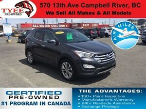 2016 Hyundai Santa Fe Sport Sport 2.0T Heated Seats Sunroof Back