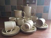 15 piece Broadstone coffee set by Poole never used so in brand new condition