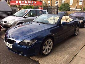 BMW 6 SERIES 3.0 630i 2dr 6 MONTHS FREE WARRANTY