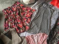 Bundle ladies clothes size 6-8 used 15 items £15