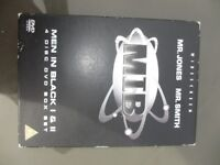 Men in Black 1 & 2 (4 Disc DVD Box Set). For collection in Romford, Essex - £3.00