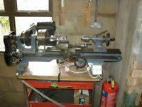 SuperRelm metal work lathe