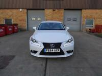 Lexus IS 300h Executive Edition (white) 2014
