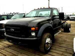 2008 Ford F-550 Regular Cab & Chassis 4X4, 6.8L V-10, GAS