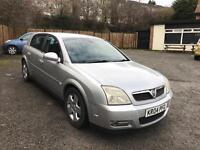 2004 VAUXHALL SIGNUM WITH LOW MILES