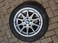 4 x BMW Z4 wheels and Nokian winter tyres 205/55R16.
