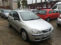 Vauxhall Corsa Life 1Ltr 3 door model ideal first car long mot and svs history