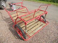 Pony Exercise Cart