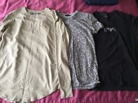 11 ITEMS SMALL MENS CLOTHES. Sik silk. Gym king. Next. T SHIRTS JEANS JACKET HOODIE TROUSERS