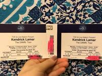 2x Kendrick Lamar 12th Feb, Seated