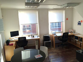 Two desks availible in creative studio – Soho £60 per desk per week