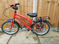 Red bike 16 inch - very good condition