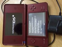 DSI XL with charger and one game No stylus