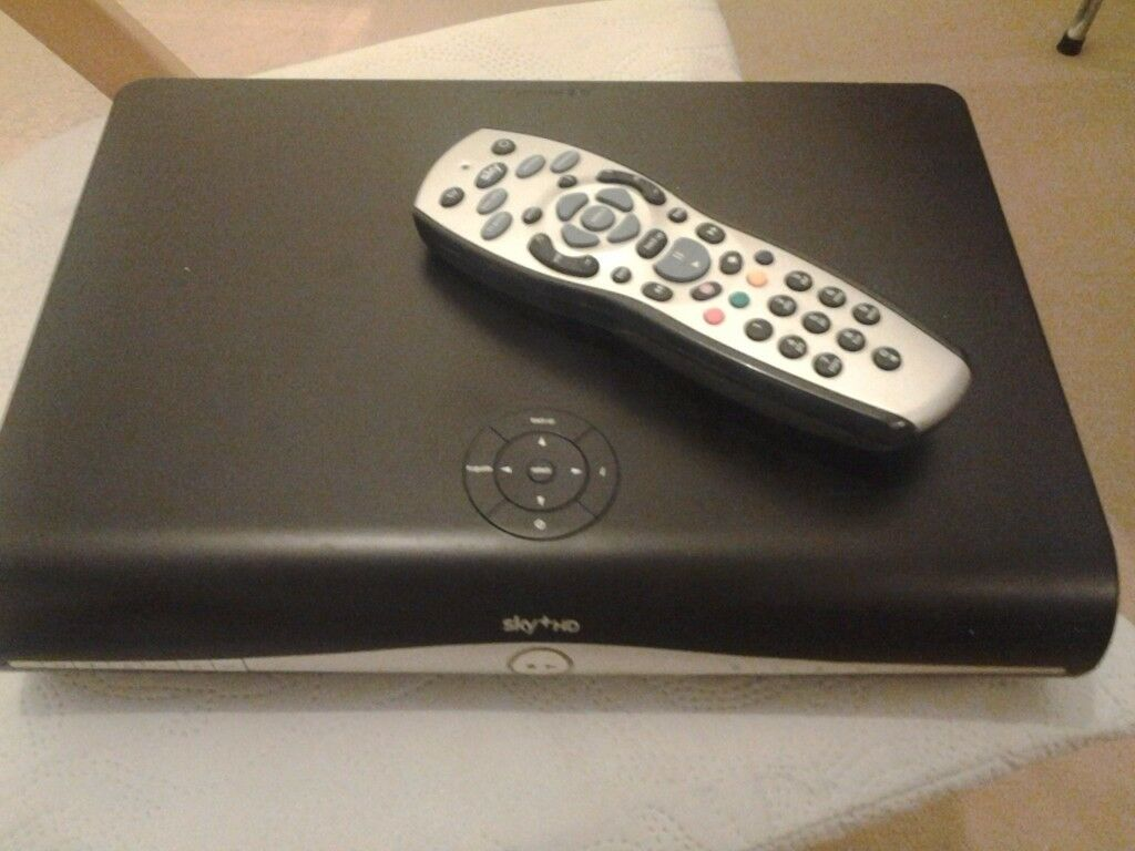 sky box with remote used but working