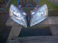Ford Focus - Headlight conversion for europe - Lights dip to the right!