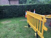 4 security barriers for sale .