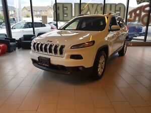 2016 Jeep Cherokee North 4X4 TRAILER TOW V6 PANO ROOF LEATHER
