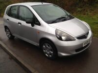 honda jazz 1.2 , long mot , clean and tidy inside and out , bargain little car
