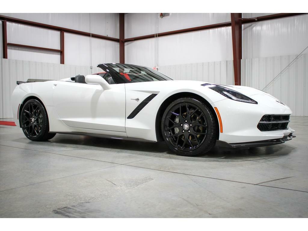 2019 White Chevrolet Corvette Convertible 3LT   C7 Corvette Photo 7