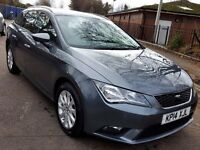 2014/14 SEAT LEON 1.2 TSI TURBO PETROL ESTATE 25.000 MILES, 1 YEAR MOT, P/X CONSIDERED