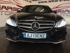 MERCEDES-BENZ E CLASS 2.1 E220 CDI AMG Sport 7G-Tronic Plus 4dr Auto (black) 2014