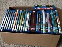 Disney blu rays and dvds