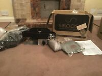 Sirocco Streamline 16 inch gas fire plus back box. Unused and boxed.