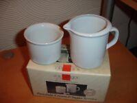 Sugar Bowl and Milk Jug----Brand New in Box