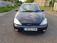 2003 Ford Focus 1.8 TDCi Ghia 5dr Manual @07445775115 2Key+History+Long+Mot+Warranty+HPI+History.