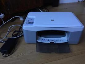 HP Deskjet F380 colour printer