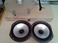 2 x B&W Bass Midrange Drivers 165mm.