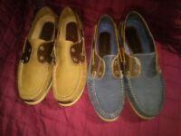 Deck Shoe (Mens) Size 10 - 2 pairs