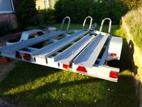 3 LARGE MOTORBIKE TRAILER FOR HIRE