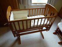 Cosatto Swing Crib - Excellent Condition