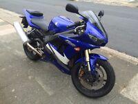 Yamaha R6 2006 Blue
