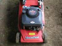 Mountfield Self Propelled Petrol Mower for Sale.