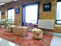 Large, bright office space available in Bermondsey/London Bridge *No Contract*