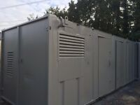 FOR SALE 24ft x9ft Anti Vandal Evo Welfare Unit/ Site Office With Generator./Toilet Unit
