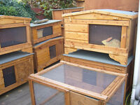 "rabbit hutch robust 48""internal and external from £35.00 worth viewing 7days"