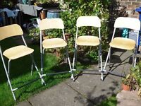 Chairs 2 breakfast bar type seats (ikea) 3 pounds each. some scratches on the surfaces