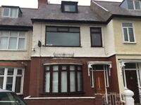 4 bed mid terr, Priory rd, L4 2SH, gch, dg, modern fit kit with oven, unfurn, 2nd shw rm, must view