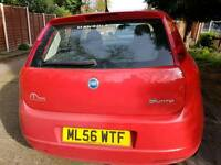 2006 reg fiat punto.10 months mot.taxed and insured.great engine and gearbox