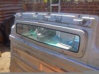 Vauxhall Vivaro bulkhead silver with window