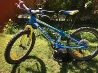 Bike - children, Cube, blue and yellow, 20 inch
